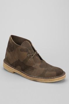 Clarks Camo Desert Boot #urbanoutfitters
