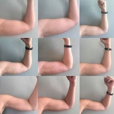 How 1 workout routine got rid of my arm flab in 12 weeks. I got rid of my arm flab in just three months and using only 5 pound weights! It only takes 15 minutes, 4 times a week to get toned arms. Fitness Workouts, Fitness Diet, At Home Workouts, Health Fitness, Workouts For Arms, Muscle Fitness, Flabby Arm Workouts, Arm Toning Workouts, Arm Excersises