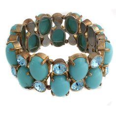 "Suzanne Somers ""Parisian Elegance"" 6"" Stretch Bracelet #SuzanneSomers #Stretch"