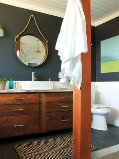 Get inspired and motivated to remodel your bathroom with these great remodeling tips and advice. These DIY ideas will make your bathroom beautiful and stylish.