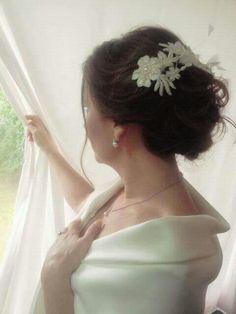 #bridallook #weddinglook  peinado y maquillaje para novia