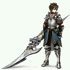 I know he is no Samurai, but he is looks so pretty. <3