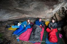 Photos and pictures of: Hikers in Twins Cave, Ukhahlamba Drakensberg Park, South Africa - The Africa Image Library Family Holiday Destinations, Kwazulu Natal, Holidays With Kids, South Africa, Cave, Pictures, Photos, Twins, Caves