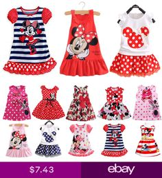Toddler Kids Girls Cartoon Minnie Mouse Party Dress Sleeveless Skirt Clothes Top - Holiday Dresses Outfit - Ideas of Holiday Dresses Outfit - Toddler Kids Girls Cartoon Minnie Mouse Party Dress Sleeveless Skirt Clothes Top Price : Kids Outfits Girls, Family Outfits, Kids Girls, Girl Outfits, Baby Kids, Toddler Girls, Baby Boy, Minnie Mouse Cartoons, Minnie Mouse Party