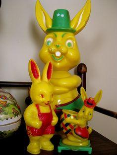 plastic easter bunnies
