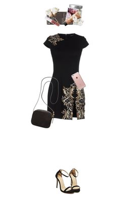 """""""Get yo christmas spirit on!!"""" by megspiration ❤ liked on Polyvore featuring Dsquared2, The Row, Korres, NARS Cosmetics, Auden, Obsessive Compulsive Cosmetics and Incase"""