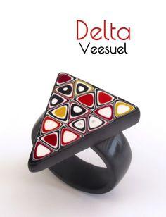 Bague Delta