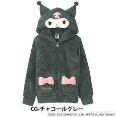 Kuromi Fluffy Roomwear Hoody