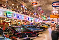 Inside Ron Pratte's Surreal Private Car Museum The Ron Pratte Collection Pole Barn Garage, Garage Art, Man Cave Garage, Garage Shop, Garage Ideas, Cool Garages, Custom Garages, Classic Car Garage, Ford Mustang