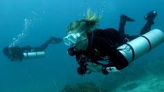 Tech Diving Sidemount. Big Blue Diving.