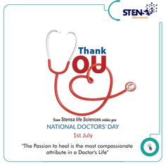 *On this occasion, I express my gratitude to you for always being there for us, for serving us with happiness and for treating our problems. Happy Doctor's Day to you! National Doctors Day, Express My Gratitude, Life Science, Compassion, Wish, Healing, Happiness, Happy, Products