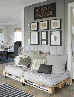 sofá con almacenaje palets