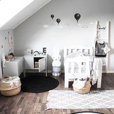 Can you spot something new in here? Something simple but awesome. Something we had in the beginning, but got lost, but now is back❕In black. Better than ever. Happy friday ➖➖➖➖➖➖➖➖➖➖ #stickstay #stickers #wallstickers #barnrum #kidsroom #barnrumsinredning #kidsdecor #finabarnsaker #kidsinterior #kidsdesign #greywall #barneroom #inspirationforpojkar #kidsinspo #kidsdeco #nordsjöfärg #kidsperation #hotairballoons #luftballonger #clouds #somethingnew