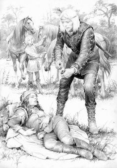 Blood of Elves - Illustrations by Denis Gordeev