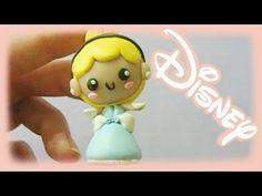▶ Disney's Princess Cinderella Polymer Clay Chibi Tutorial - YouTube