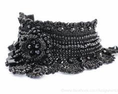 Häkeln Sie Armband Manschette. Bulgarische von KaterinaDimitrova