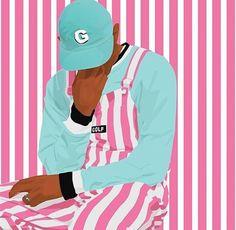 Golf Fashion, Mens Fashion, Camisa Vintage, Odd Future, Tyler The Creator, Thrift Fashion, Flower Boys, Dope Art, Art Reference