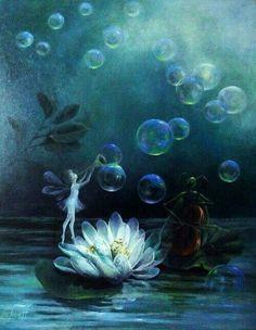 Bubbles and cello