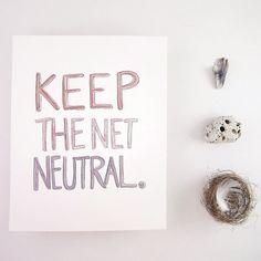 Help Etsy Artists keep the Net Neutral!