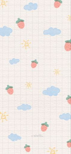 Cute Pastel Wallpaper, Soft Wallpaper, Cute Wallpaper For Phone, Bear Wallpaper, Cute Patterns Wallpaper, Aesthetic Pastel Wallpaper, Kawaii Wallpaper, Aesthetic Wallpapers, Grid Wallpaper