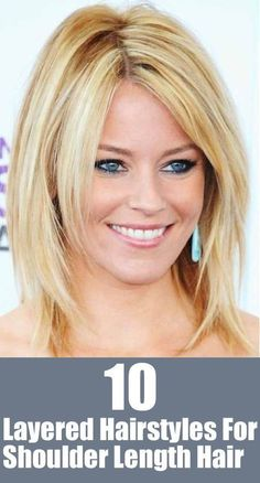 20 Great Shoulder Length Layered Hairstyles - Pretty Designs layered haircut styles for medium length hair - Medium Style Haircuts Layered Haircuts Shoulder Length, Medium Length Hair Cuts With Layers, Medium Layered Haircuts, Medium Hair Cuts, Medium Hair Styles, Short Hair Styles, Medium Thick Hairstyles, Shoulder Length Hair Styles For Women, Medium Fine Hair