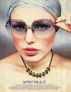 1970s Renauld sunglasses ad