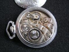 Illinois Burlington 21 jewels Railroad watch movement