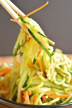 Spicy Thai Cucumber Salad by onelittleproject #Salad #Cucumber
