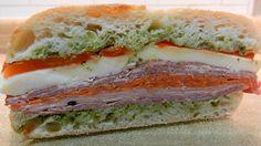 Italian Pressed Sandwiches - #Football Foodie