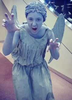 Doctor Who Weeping Angel costume by Alternate Reality Costuming at https://www.facebook.com/AlternateRealityCostuming