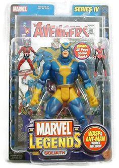Marvel Legends Series IV - Goliath - With Bonus 32 Page Comic Book @ niftywarehouse.com #NiftyWarehouse #Antman #Ant-man #Movie #Marvel #Comics #ComicBooks #Avengers #TheAvengers