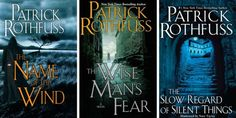 7 Fantasy Series to Read if You Love Game of Thrones. - I already read the Patrick Rothfuss books (AMAZING! but, this is a bit misleading. the 3rd book isn't out yet...the 3rd book pictured is a novella about a minor character), and I already had another series on my list to find...