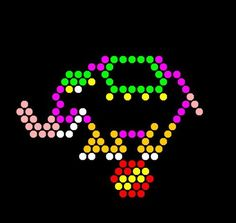 Lite Brite Refill: Circus (15 SQUARE SHEETS) - NOT for New Magic Screen in the…