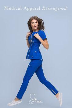 21 Trendy Ideas For Medical Student Outfit Scrubs Nursing Schools Jaanuu Scrubs, Cute Scrubs, Scrubs Outfit, Fashion Mode, High Fashion, Woman Fashion, Ladies Fashion, Medical Uniforms, Medical Scrubs