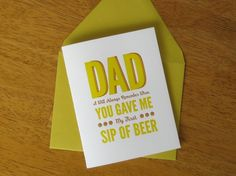 With milk in it ----gross  Paper-Plates-Press-Fathers-Day-Funny-Card