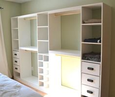 I need to learn to use more power tools and how to build things because I need this for my closet! $200