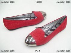 SENSO ETAMI LADIES SHOES RED SNAKE SUEDE FLATS SIZE 36 NEW
