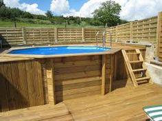 jardin et piscine on pinterest piscine hors sol above ground pool and decks. Black Bedroom Furniture Sets. Home Design Ideas