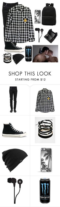 """""I'm a big boy daddy"" // ddlb"" by sadaiden ❤ liked on Polyvore featuring County Of Milan, Converse, ASOS, Burton, Skullcandy, Vans, men's fashion and menswear"
