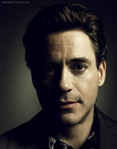 RDJ - He makes me melt like a popsicle on the 4th of July.