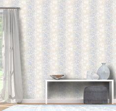 Tapety Erismann Filino, moderní tapety s přírodními vzory, listy modrá