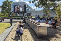 TCL creating social spaces at Monash University – World Landscape Architecture