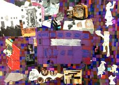 Liam Duggan, Pop Art and Buses collage, 2015