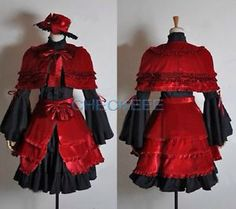 Anna Kushina cosplay dress