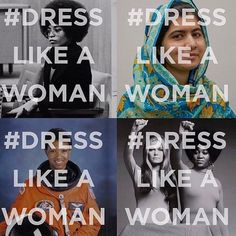 Damn right. #DressLikeAWoman (via @kamalaharris // @amandadecadenet)