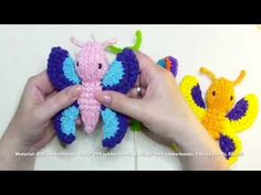 Rainbow Loom 3D Schmetterling / butterfly with english subtitle - YouTube