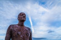 Looking up at one of the Iron Men.  Check out my full gallery of images I've taken in & around by clicking on the thumbnail.   #ironmenatten