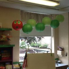The Very Hungry Caterpillar in my first grade classroom!