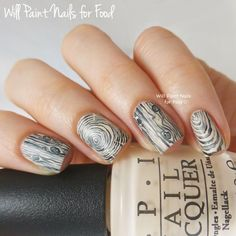 Woodgrain by Will Paint Nails for Food