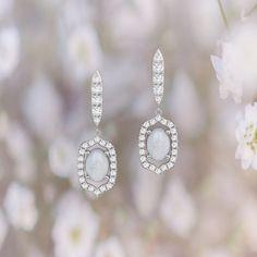 0cd66d6bbf4a Diamond drop earrings by ASCHERON. Coral EarringsDiamond Drop EarringsDesigner  Earrings18k GoldJewelry ...